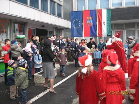Győri Mikulás ünnepség